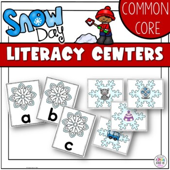 Snowflake Literacy Activities Aligned to Common Core