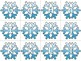 Snowflake Literacy and Math Game Pack