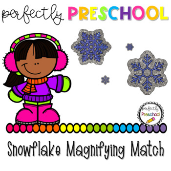 Snowflake Magnifying Match {Dollar Deal}