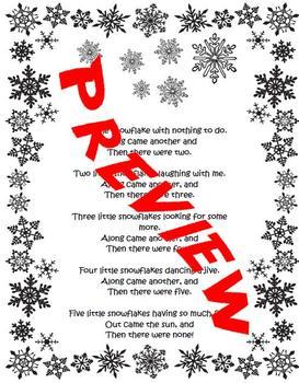 Snowflake Man Craftivity
