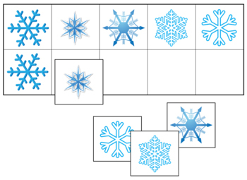 Snowflake Match-Up and Memory