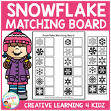 Snowflake Matching Board