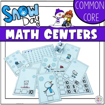 Snowflake Math Activities Aligned to Common Core