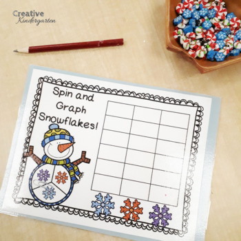 Snowflake Math Number Sense Activities and Centers for Kindergarten Students