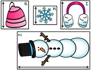Snowflake Measurement - Nonstandard Measurement Practice