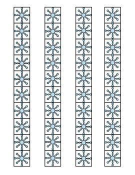 Snowflake Measurements (FREEBIE)