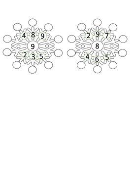 Snowflake Multiplication Wheel