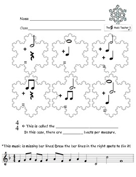 Snowflake Music Math