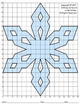 Snowflake Mystery Picture (Cool Crystals)
