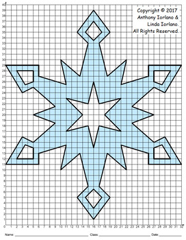 Snowflake Mystery Picture (Diamond Dust)
