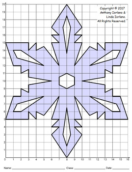 Snowflake Mystery Picture (Ice Crystals)