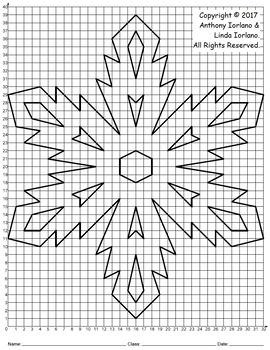 Snowflake Mystery Picture (Nature's Diamonds)