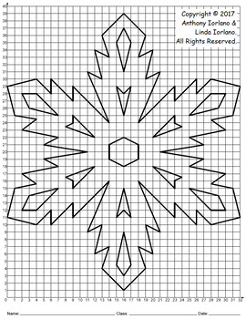 Snowflake Mystery Picture (Nature's Diamonds)