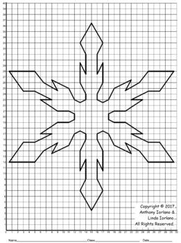 Snowflake Mystery Picture (Quadrant 1)