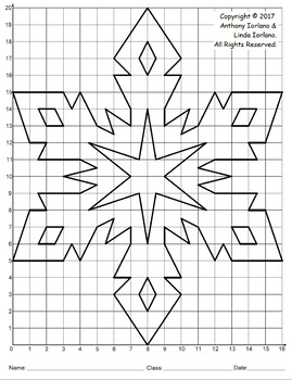 Snowflake Mystery Picture (Winter Crystals)
