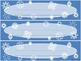 Snowflake Name Plates