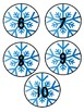 Snowflake Number Cards