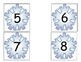 Snowflake Number Cards/Calendar Cards