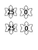 Snowflake Number Matching Activity for Preschool