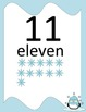 Snowflake Number Posters