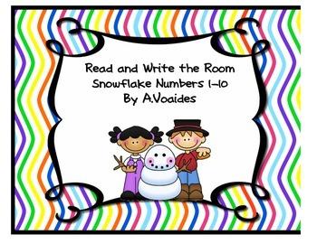 Snowflake Number Write the Room