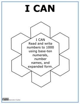 Snowflake Numbers Grade 2