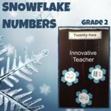 Math Snowflake Numbers Grade 2