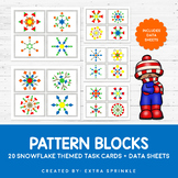 Snowflake Pattern Blocks Activity Pack