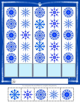 Snowflake Pattern activity