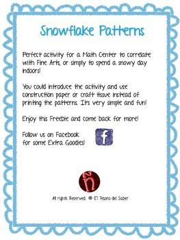Snowflake Patterns - FREE