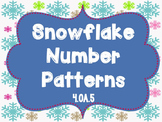 Snowflake Patterns & Functions {4.OA.5}