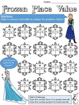 Snowflake Place Value