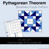 Pythagorean Theorem (Find Missing Side Length) Color Mystery Pattern