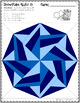 Snowflake Quilts Color by Code for Multiplication Facts up to 12 x 12  SET 2