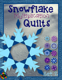 Snowflake Quilts Color by Code for Multiplication Facts up