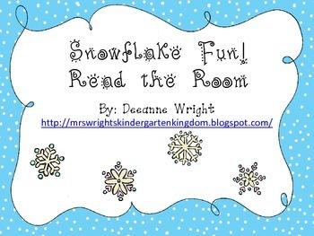Snowflake Read the Room CVC words