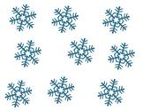 Snowflake Rhythm Patterns for First Grade Music