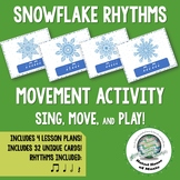 Winter Rhythm Activity to Sing Move and Play Instruments