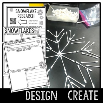 Snowflake STEM Activity with Literature Connections