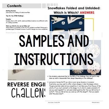Snowflake STEM Challenge - Reverse Engineer a Snowflake