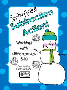 Snowflake SUBTRACTION ACTION