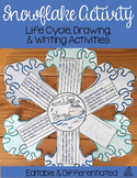Snowflake Science Activity with Snow Life Cycle, Craft, and Writing Activity.