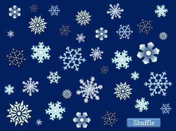 Snowflake Search: A convenient and versatile game for interactive whiteboards