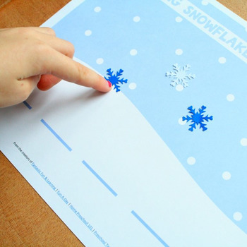 Snowflake Segmentation Winter Reading Activity