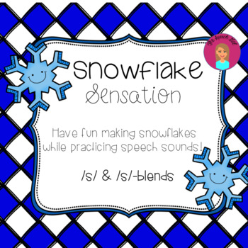 Snowflake Sensation - Articulation - /s/ and /s/-blends