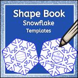 Snowflake Shape Book