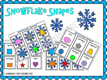 Snowflake Shapes