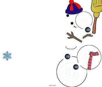Snowflake Sight Word Game