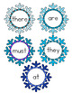 Snowflake Sight Word Reading Folder Game for Early Childho