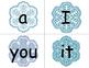 Snowflake Sight Words